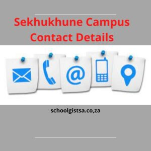 Sekhukhune Campus Contact Details