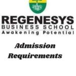Regenesys Business School Admission Requirements